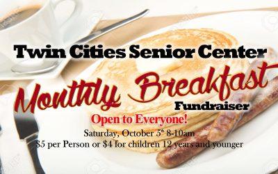 Twin Cities October Breakfast Fundraiser